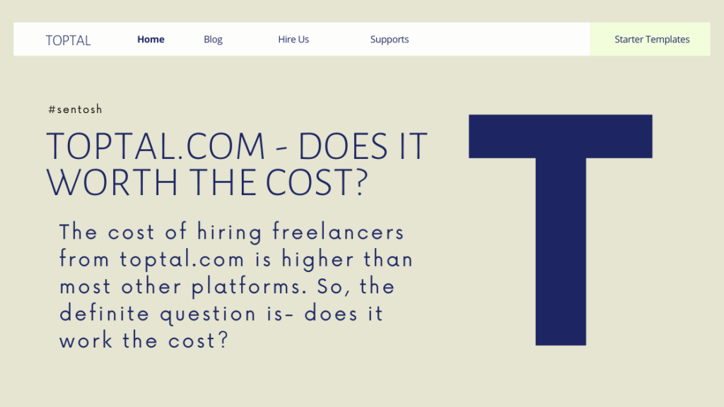 Does toptal Worth the Cost