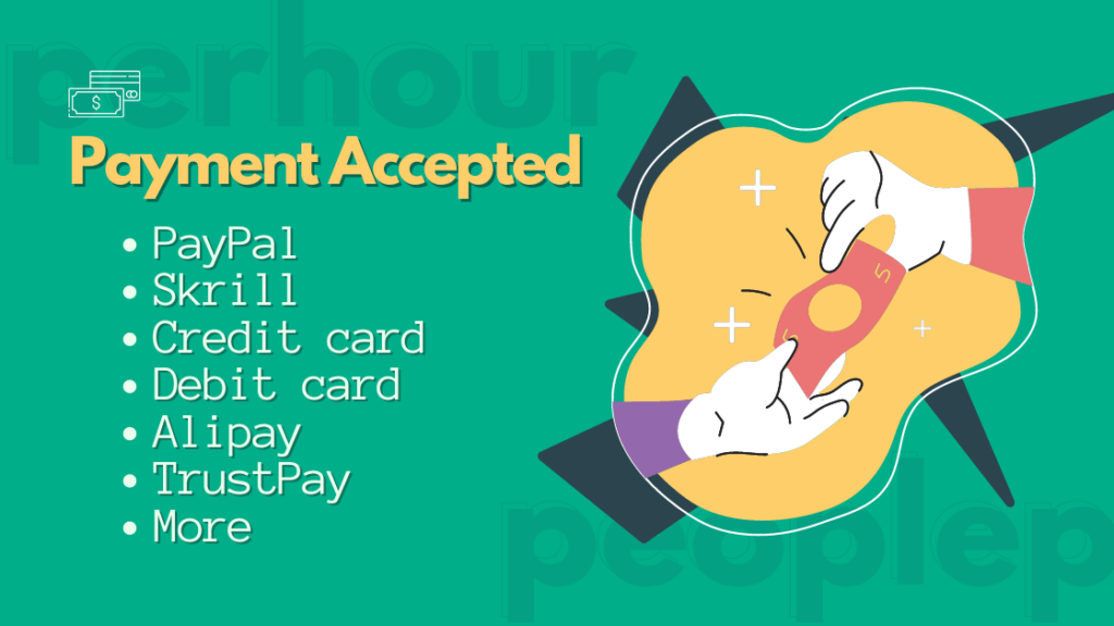 Payment Methods of peopleperhour