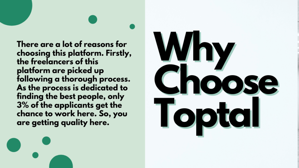 Why Choose Toptal.com
