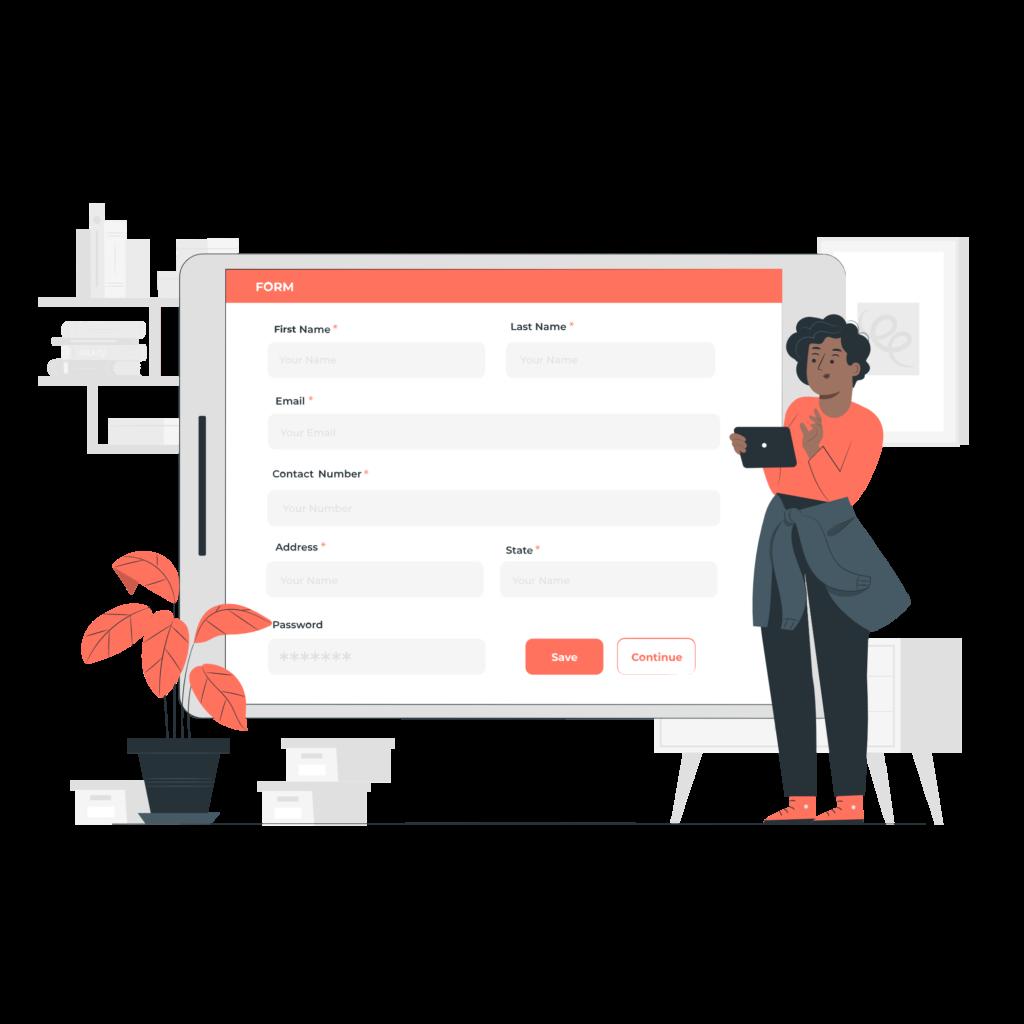 WordPress Premium Form Design Service
