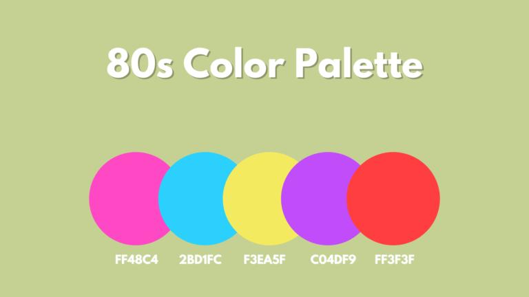 80s Color Palette