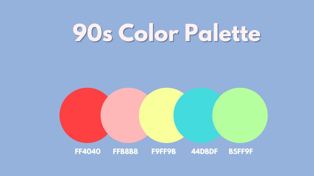 90sColor Palette