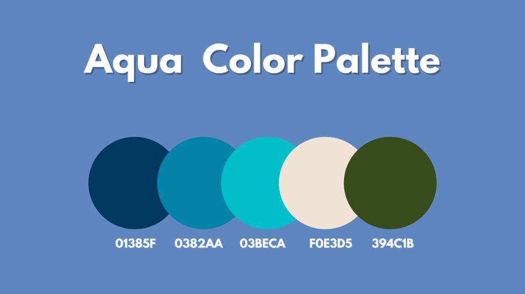Aqua Color Palette