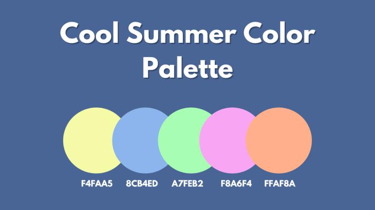 Cool Summer Color Palette