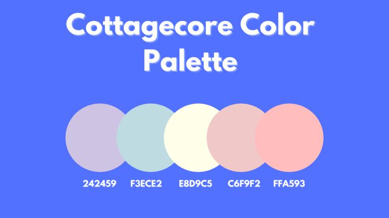Cottagecore Color Palette