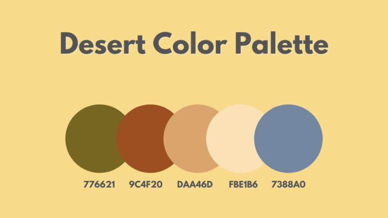 Desert Color Palette