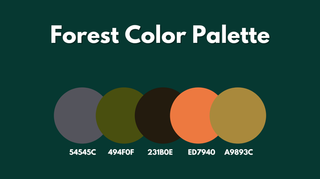 Forest Color Palette