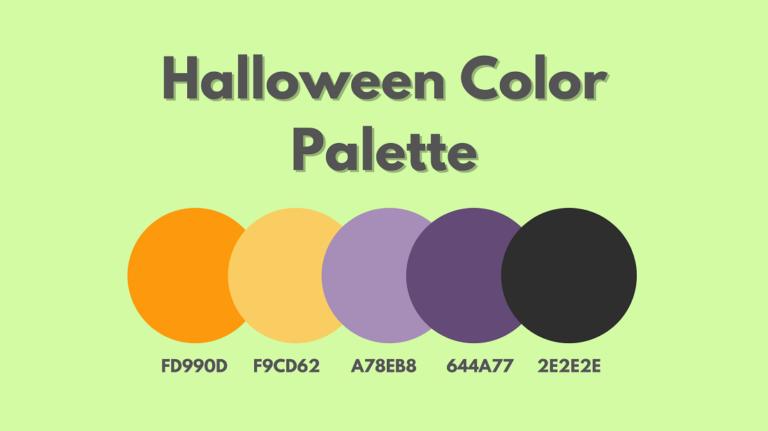 Halloween Color Palette