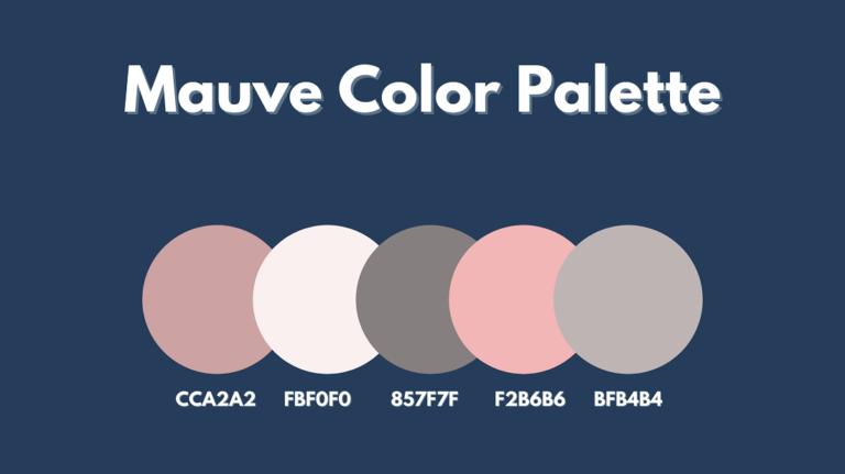Mauve Color Palette