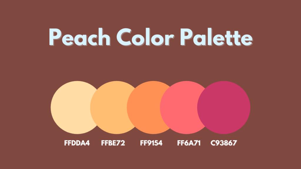 Peach Color Palette