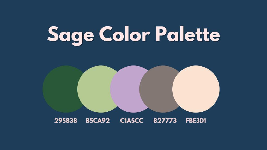 Sage Color Palette