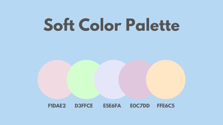 Soft Color Palette
