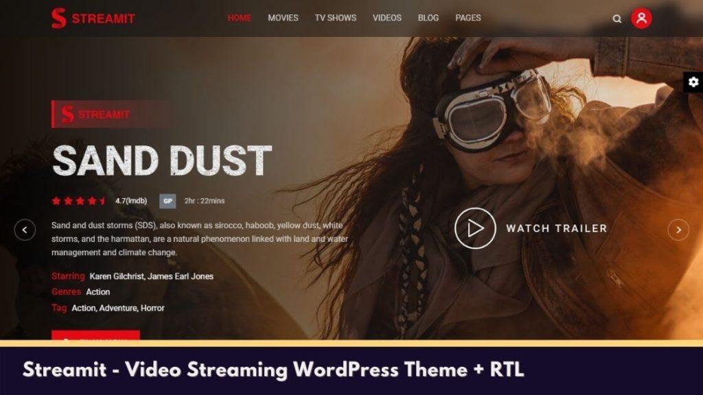 Streamit - Video Streaming WordPress Theme + RTL