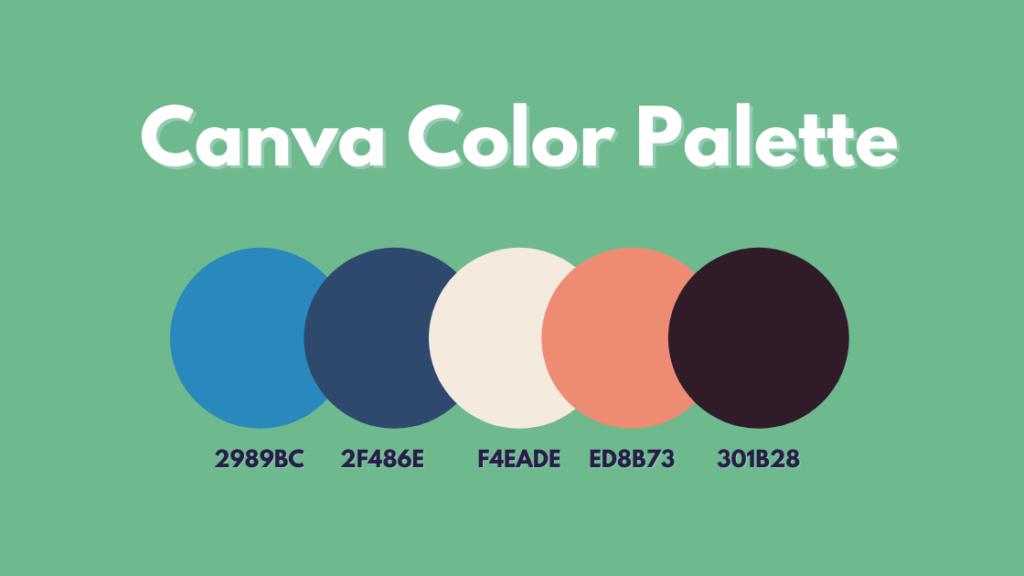 Canva Color Palette