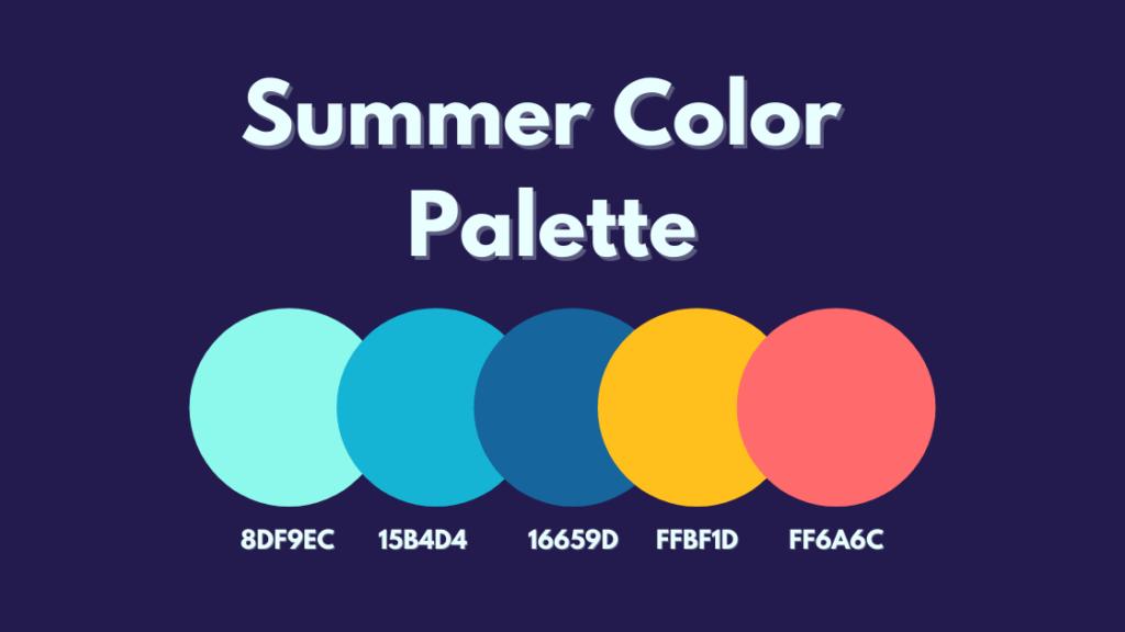 Summer Color Palette