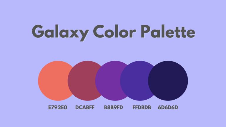 galaxy color palette